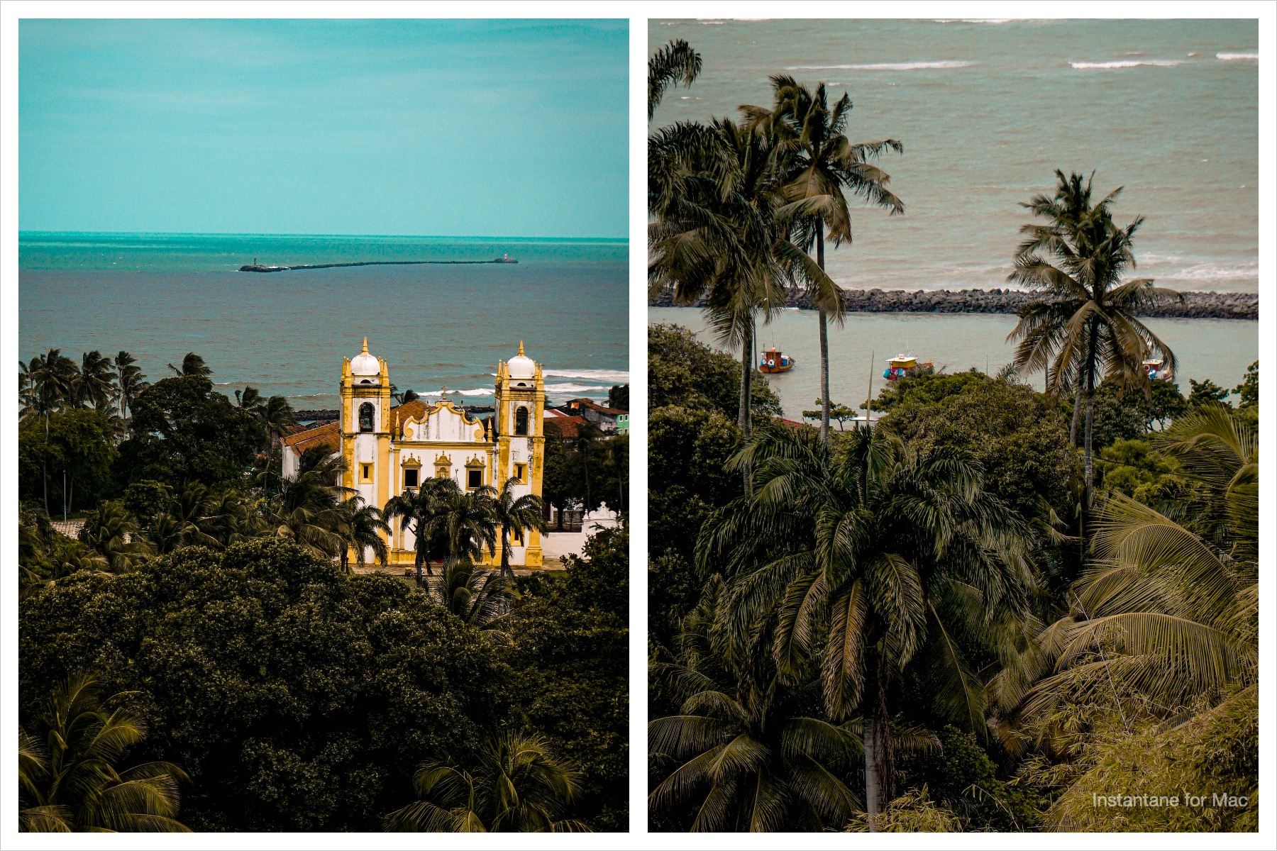 vista de Olinda em Pernambuco