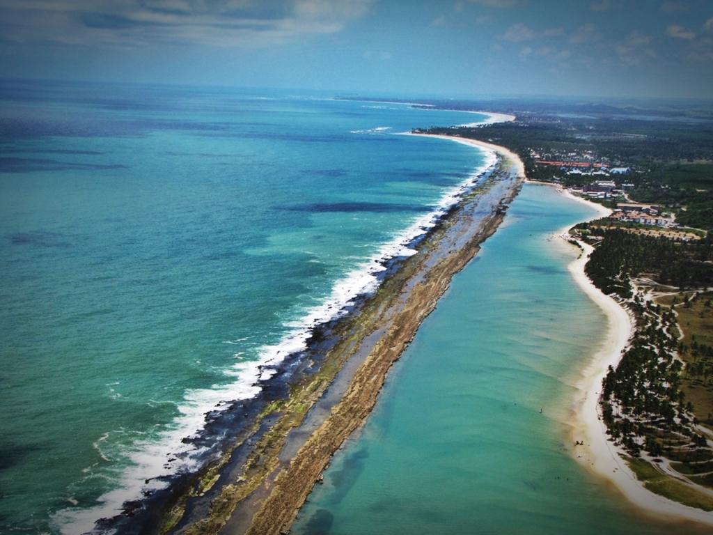 praia de muro alto em Porto de Galinhas Pernambuco